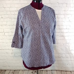GRAND & GREENE LINEN AND COTTON PULLOVER TOP